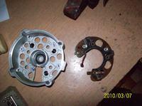 Oryginalny alternator C330 i minus na obudowie silnika