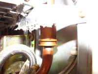 Piec WRP 11 B23 sposób demontażu nagrzewnicy