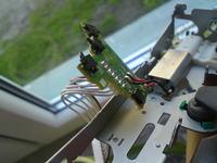 Alpine CDE-9822RB - po czyszczeniu mechanizmu NO CD