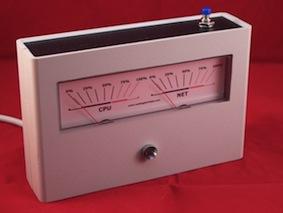 Analogowy wskaźnik wydajności komputera pod USB