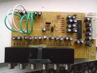 Genius 5.1 SW-HF5005 Uszkodzony selektor wejść.