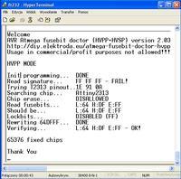 Atmega Fusebit Doctor (HVPP+HVSP) - napraw fusebity