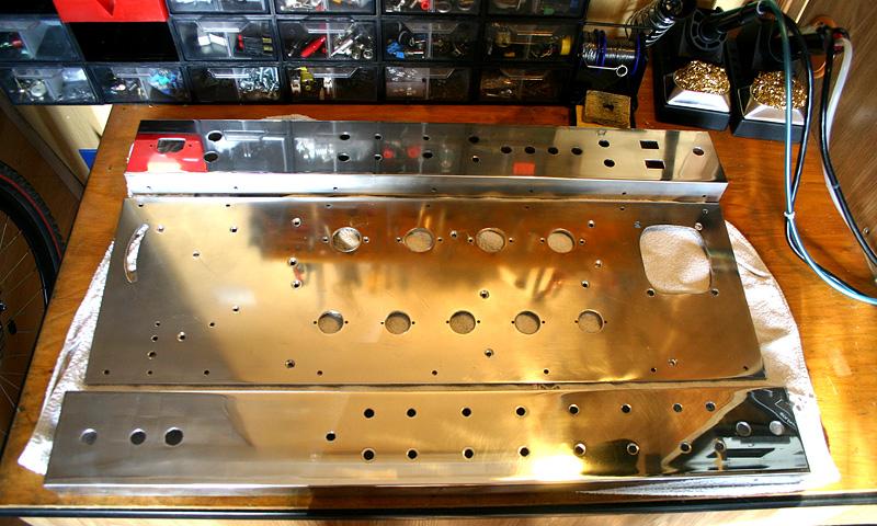 Lampowa głowa gitarowa 100W (Mesa DR) - dużo zdjec z budowy!
