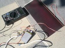Wykorzystanie baterii od SIEMENSA i panelu słonecznego