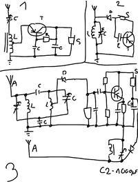 Najprostszy radioodbiornik - trochę drutu, dioda i słuchawka