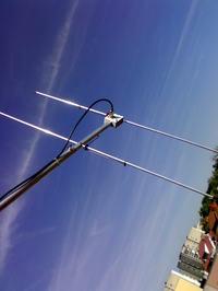 Antena HB9CV na pasmo 144-146MHz