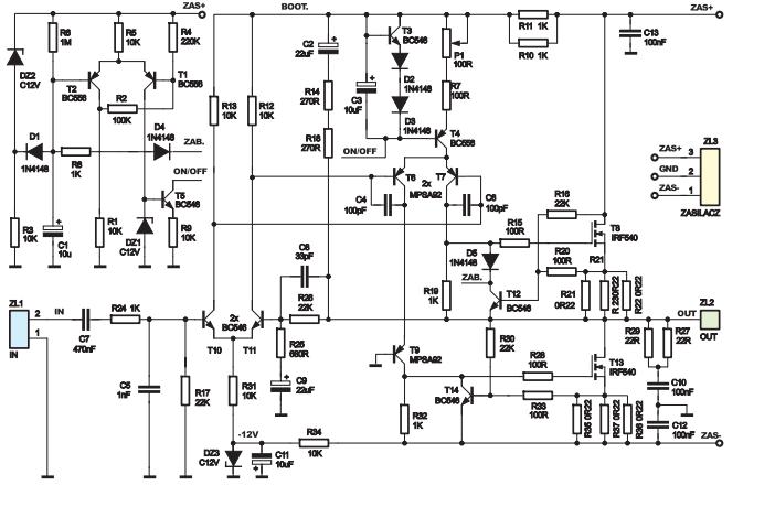 Sprawdzenie Poprawno Ci Schematu Wzmacniacza Elektroda Pl
