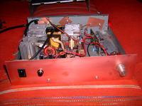 Końcówka mocy do subwoofera około 250W.