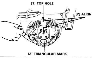 Silnik 168F - Regulacja zaworów