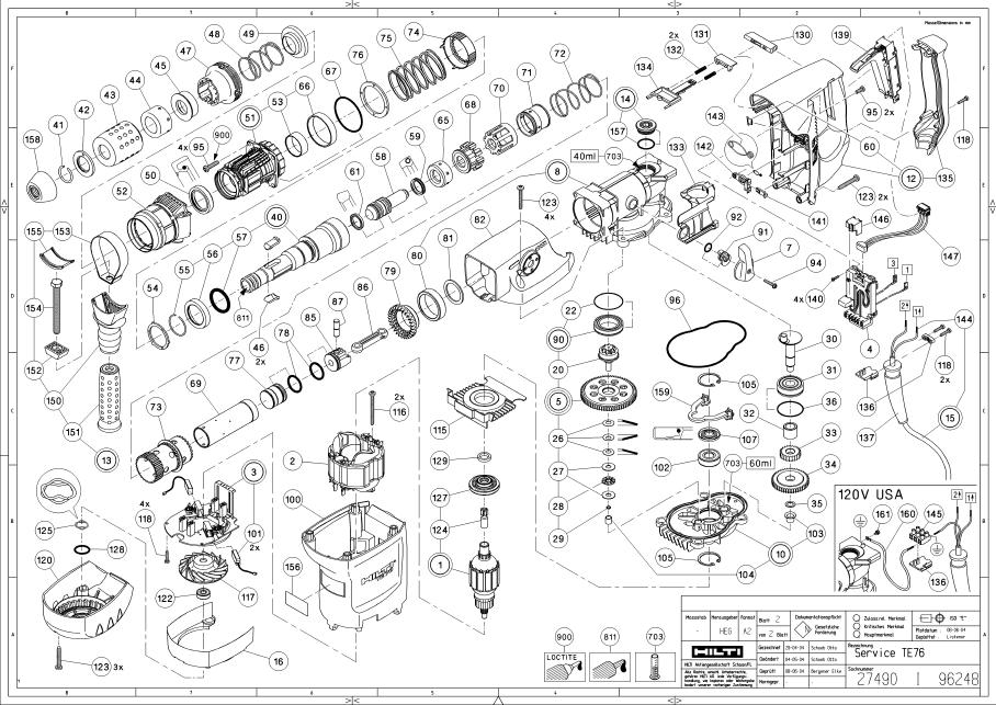 hilti parts manual  u2022 wiring and engine diagram