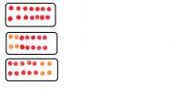 Projekt układu z zastosowaniem diod super flux RGB.