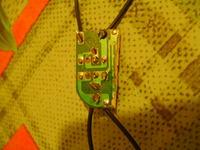 Lampki LED, spalony sterownik