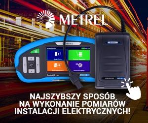 Mierniki instalacji Metrel