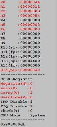 ASM[ARMv7] - Dziwne zachowanie programu.