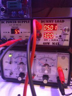 Sztuczne obciążenie 1,0V - 30V 0,01A - 9,99A. Max. 60W R06 - China - recenzja