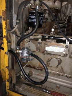 Deutz - cofanie/ściąganie paliwa