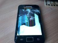 Samsung Galaxy Ace Zbity ekran blokada wzorem