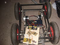 Platforma jezdna robota mobilnego - duża