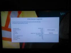 Telewizor Samsung UE32M5572 - nie wyszukuje kanałów pomimo dobrego sygnału