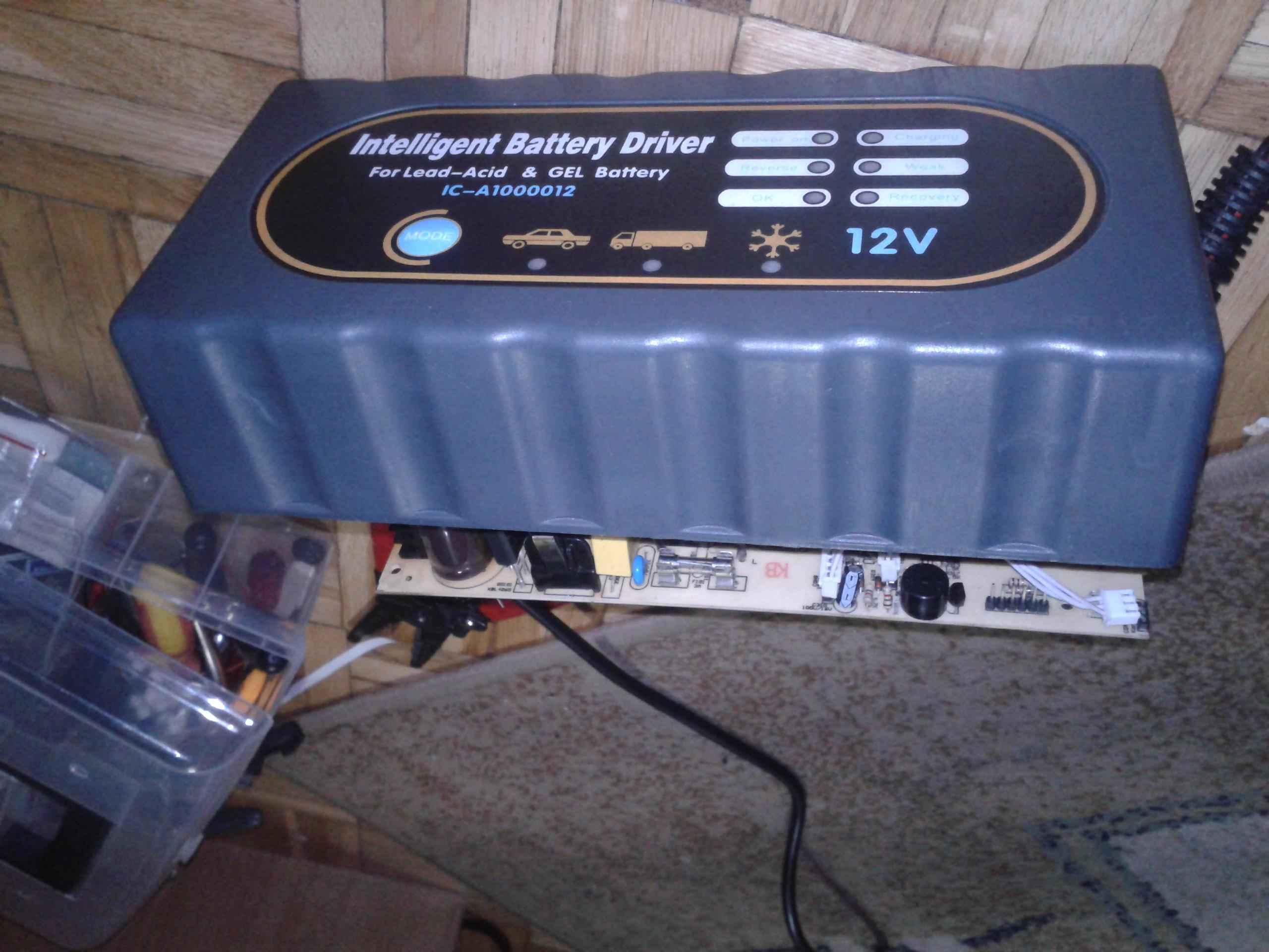 Inteligent Battery Driver 12V - Uszkodzona �adowarka akumulator�w kwasowych/�el