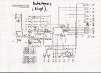 MF 3080 - Elektrohydraulika - brak zająca, przedni naped działa bez przerwy.