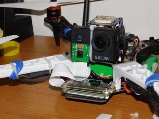 Inteligentny, autonomiczny dron z Raspberry Pi i Arduino
