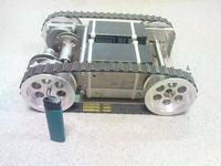 Mój pierwszy robot na gąsienicach