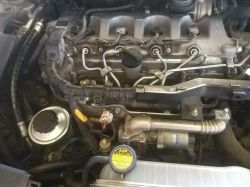 Toyota Avensis T25 2.2 D4D - Coolant ejected through the hose