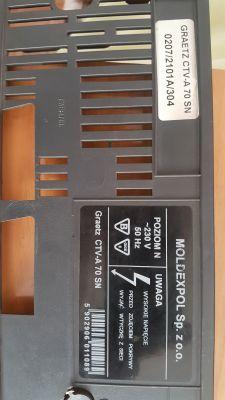 przepalający się bezpiecznik 2A w telewizorze Graetz ctv-A70sn