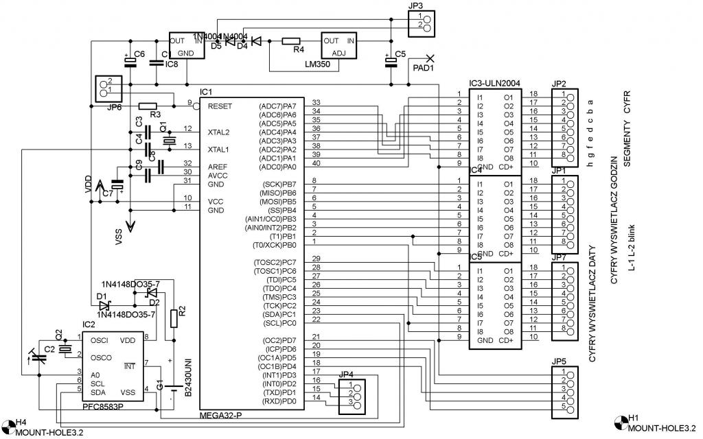 [atmega32][c]multipleksowanie wy�wietlacza LED