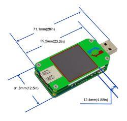 Tester model: UM24C z graficznym wyświetlaczem i interfejsem Bluetooth