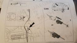 Ford Kuga 2 - montaż wiązki dedykowanej haka-gdzie podłączyć CAN