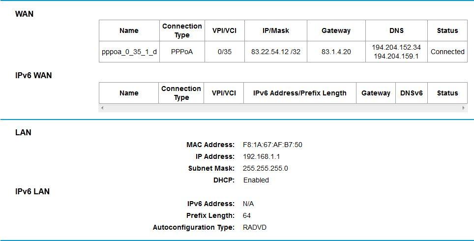 Pentagram Cerberus P 6360 - Konfiguracja routera jako trzeciego w sieci