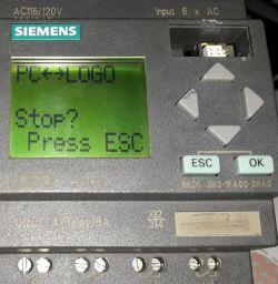 LOGO Siemens 6ED1_052-1FA00-0BA0 podłączenie z PC.