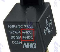 Przeka�nik 24V dodatkowe oznaczenie dla styku NO i NC