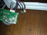 Indesit wie 127 (EX) - Podłączenie programatora.