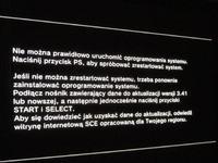 Playstation 3 Zmiana dysk twardy - uszkodzenie konsoli PS3