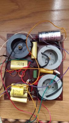 Tonsil (Thomson) ZG40C/5 4Ohm - kondensator bipolarny 50uF