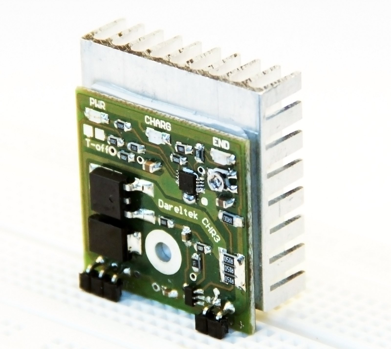 �adowarka Li-Ion Li-Poly na MCP73833 + PMOSFET, max 3A