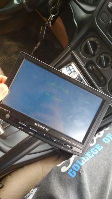Audiovox LCM972TS - Wyświetlenie ekranu androida przez AV-IN