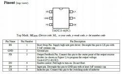 Manta LED1905 - Pomyłkowo podane 24V. Jak są kodowane SY8113?