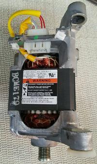 silnik z pralki automatycznej i regulator obrotów