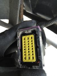 Iveco Daily 2013 35C15 - Usunięty moduł haka - brak podświetlenia tablicy
