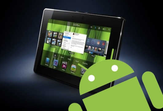 Android App Player dla BlackBerry PlayBook w fazie beta