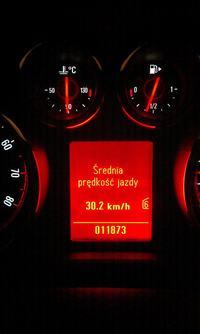 Opel Astra IV (J) Komputer pokładowy