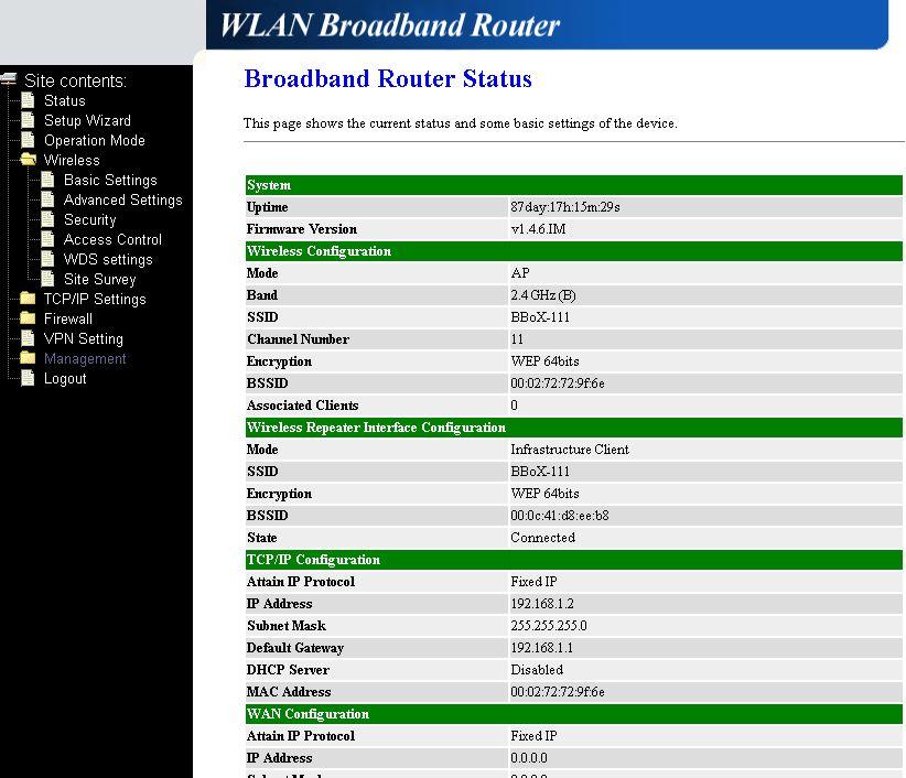 Po��czenie bezprzewodowe dw�ch router�w Wi-Fi