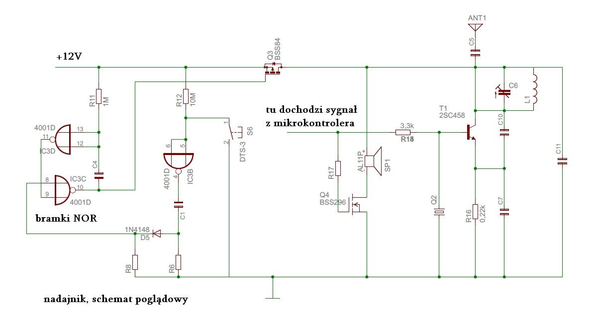 dzwonek bezprzewodowy 433MHz - identyfikacja usterki