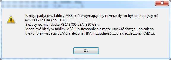 Awaria dysku WD 320GB - odzyskiwanie danych (zdjecia)