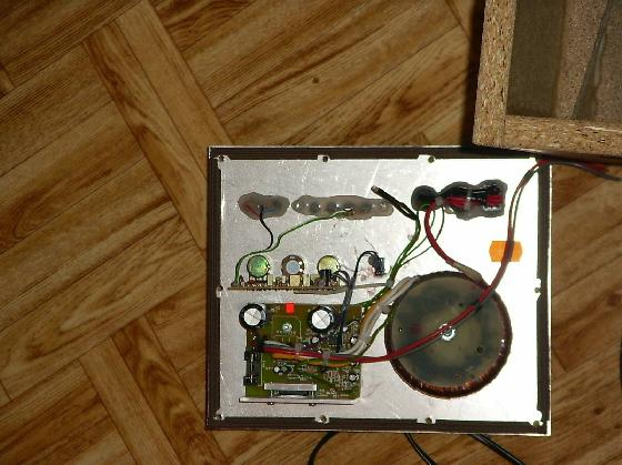 pierwsza konstrukcja - sub aktywny na alphard sw-803z