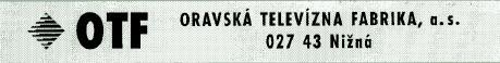 TV OTF typ 4346. Czy ktoś wie kto jest producentem tego TV?